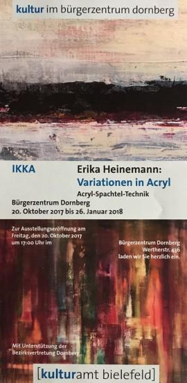 Meine aktuelle Ausstellung im Bezirksamt Dornberg